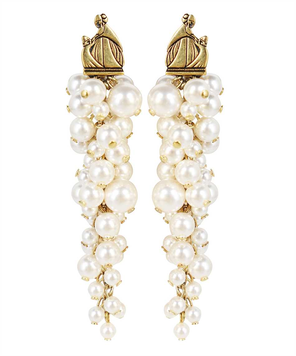 Lanvin AW CJYA0Y PERL A21 MOTHER & DAUGHTER LONG PEARLS Orecchini 1