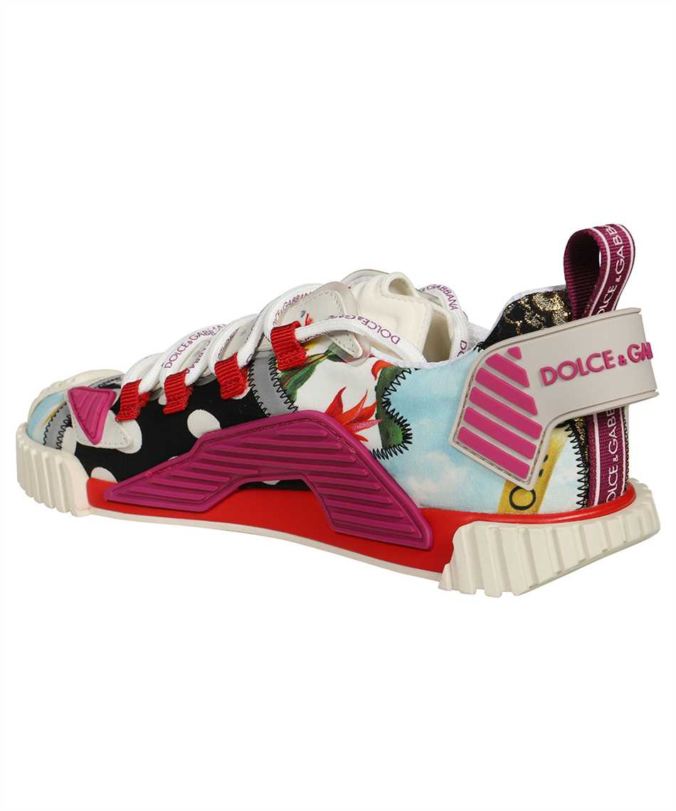 Dolce & Gabbana CK1756 AO672 PATCHWORK FABRIC NS1 Sneakers 3