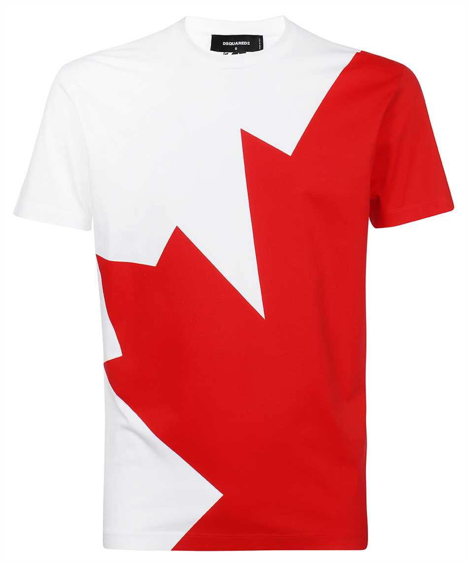 Dsquared2 S74GD0852 S23009 MEGALEAF COOL T-shirt 1