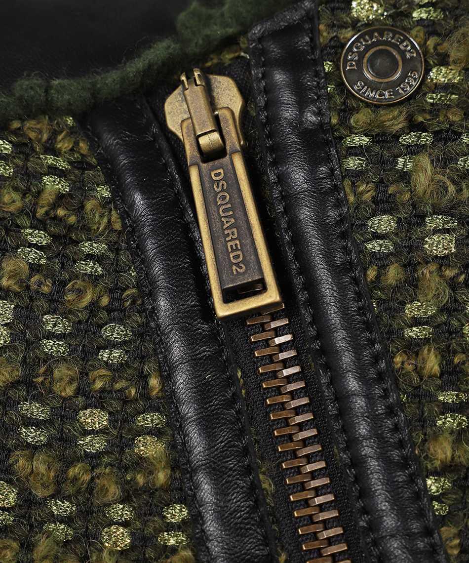 Dsquared2 S75AM0865 S54066 DIAGONAL ZIP Jacket 3