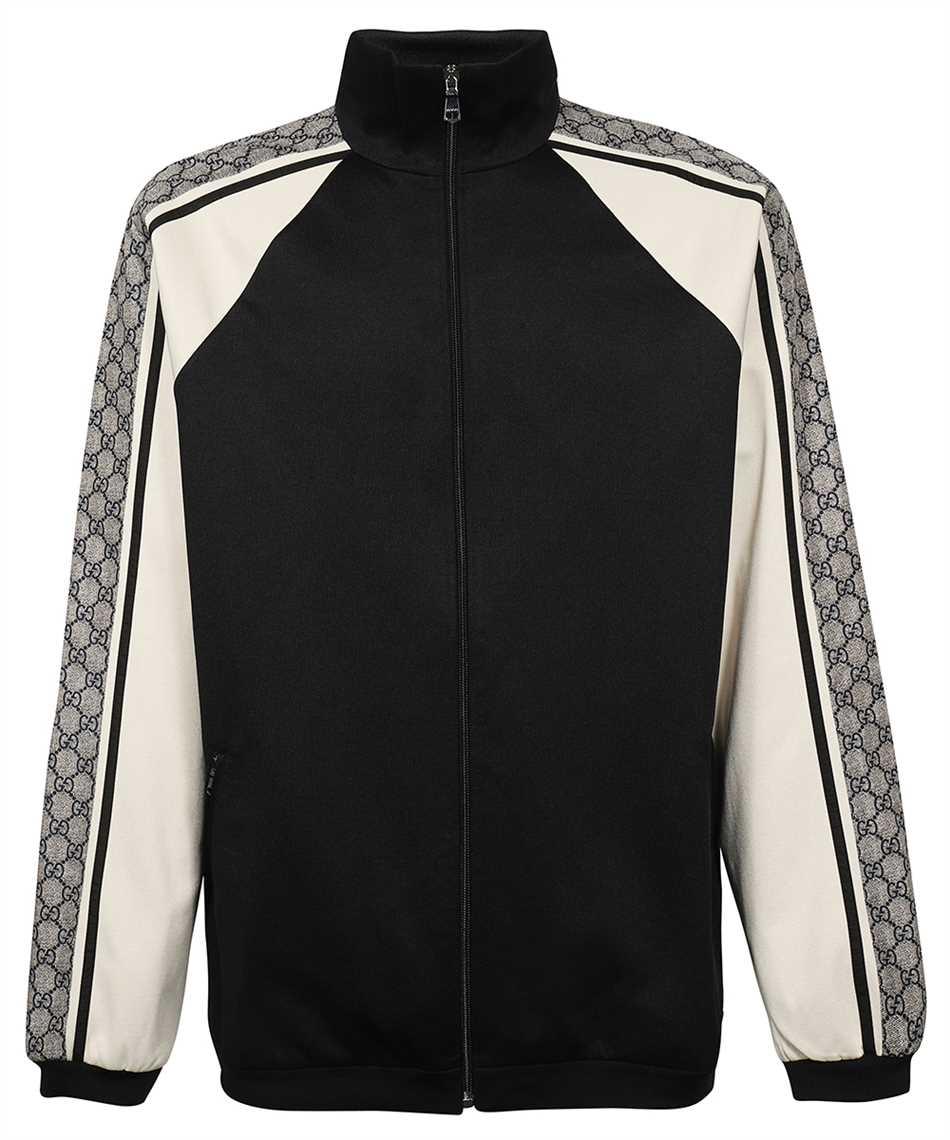 Gucci 545601 XJACZ OVERSIZE TECHNICAL JERSEY Jacket 1