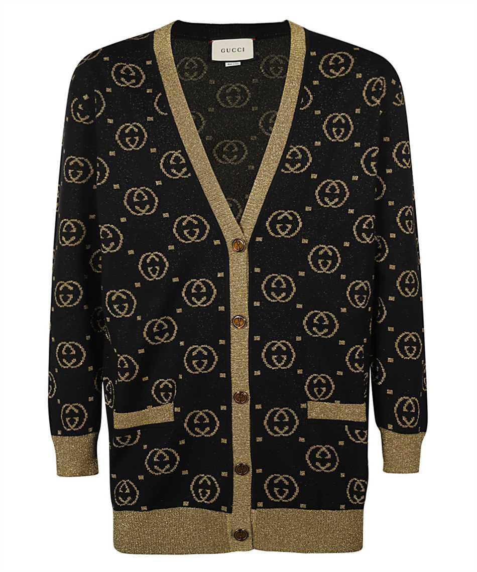 Gucci 555014 XKAH9 GG MOTIF Cardigan 1