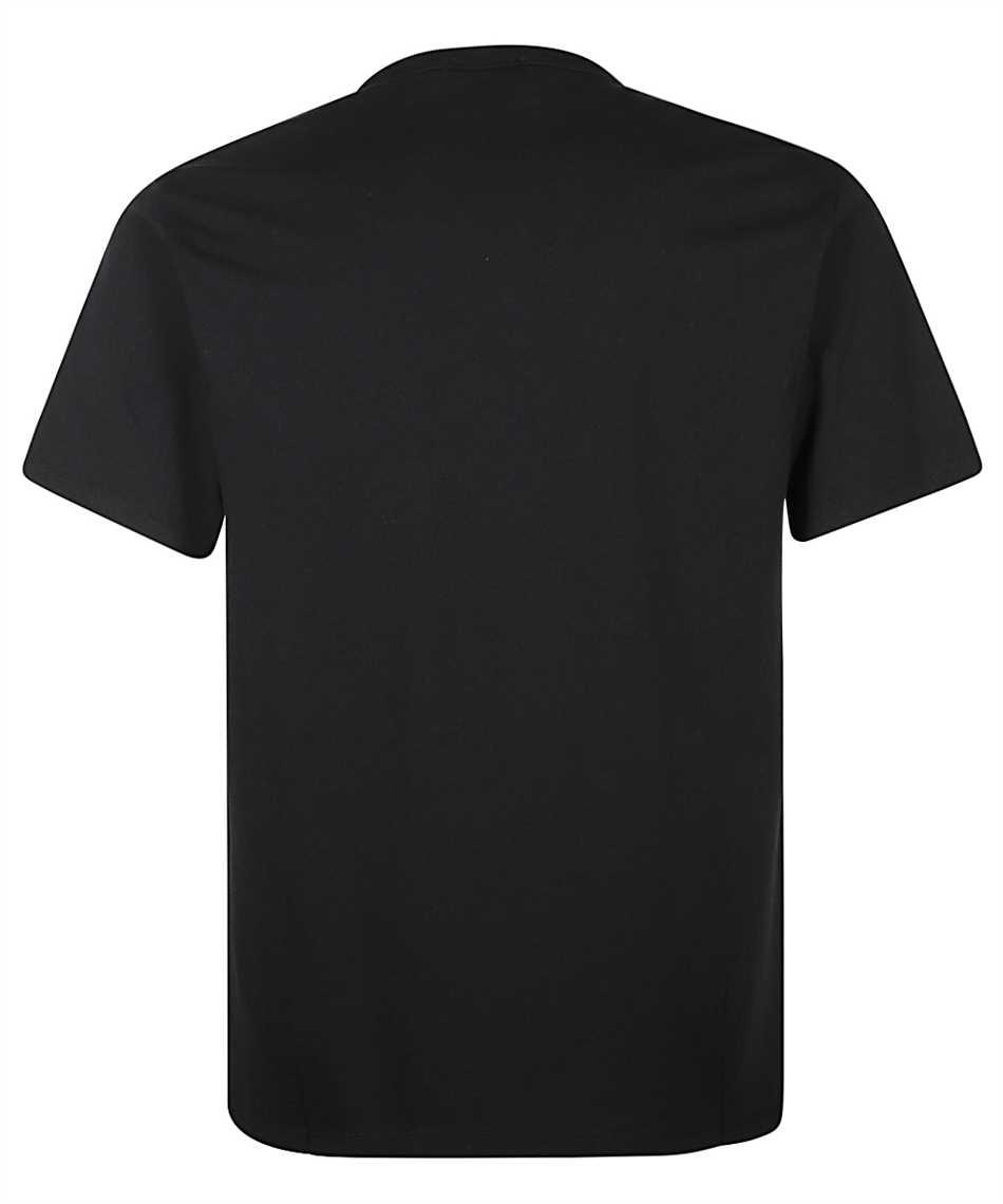 Maison Kitsune FM00120KJ0010 TRICOLOR FOX PATCH POCKET T-shirt 2