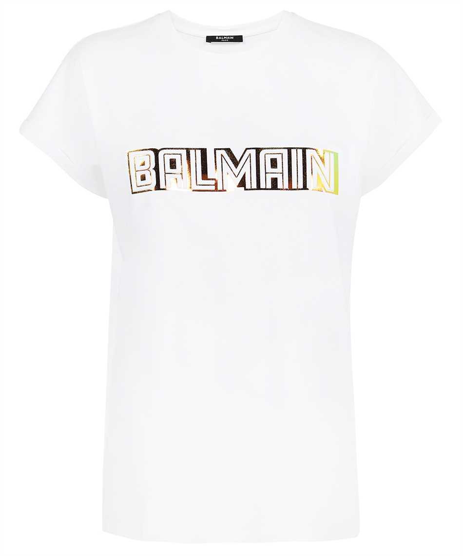 Balmain WF0EF010B098 METALLIC EMBOSSED T-shirt 1