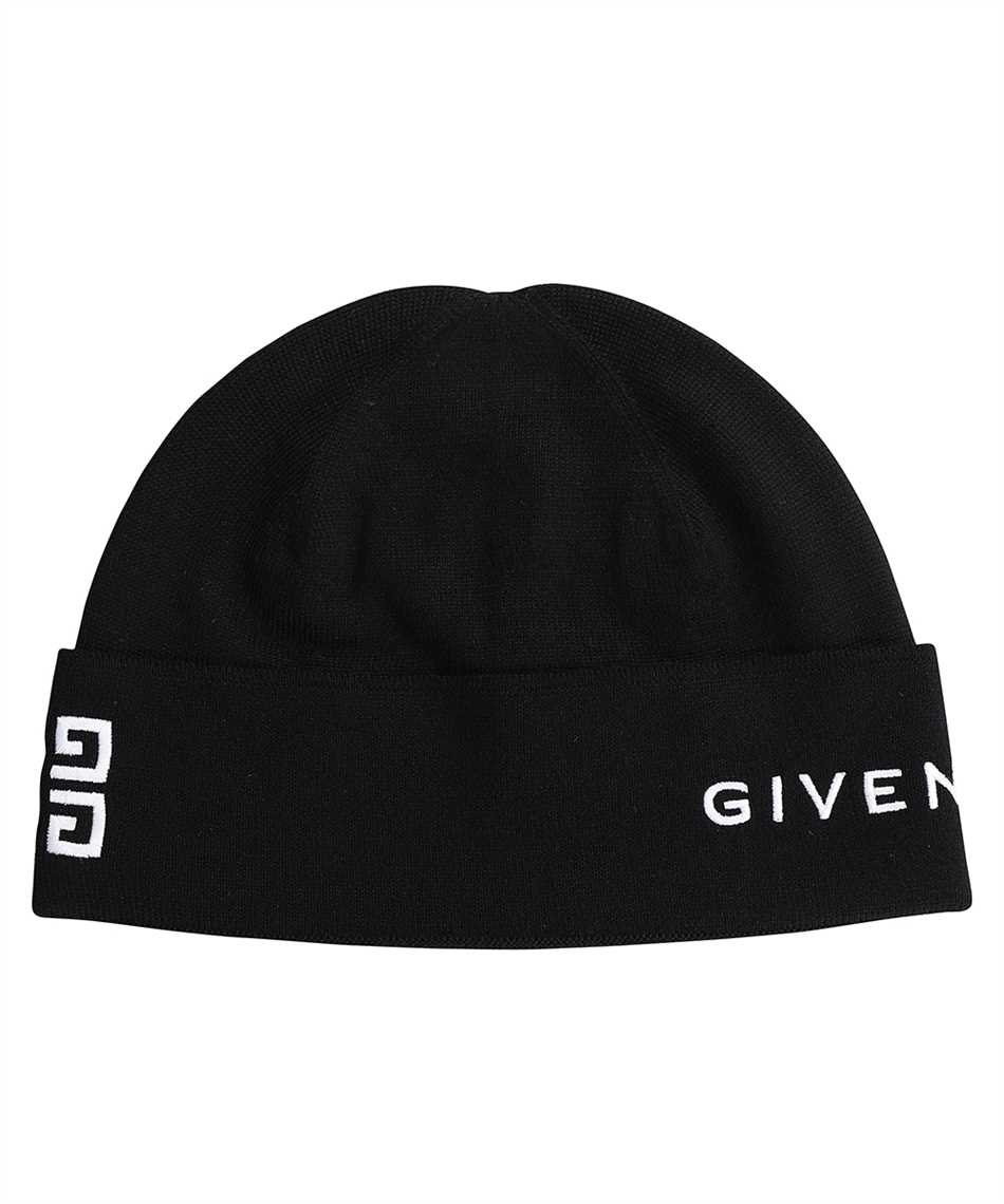 Givenchy BPZ02Y P0DB 4G GIVENCHY EMBROIDERED WOOL Mütze 1