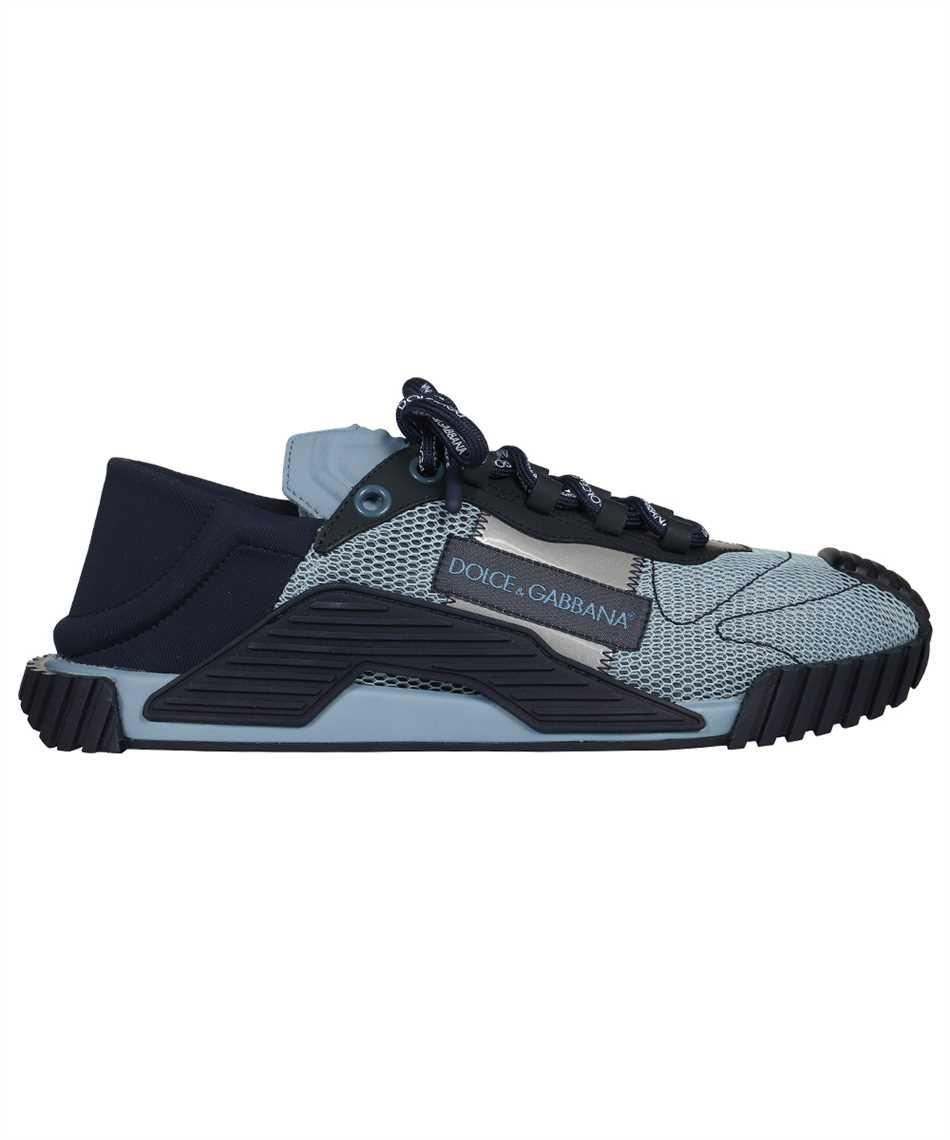 Dolce & Gabbana CS1769 AO225 MIXED MATERIAL NS1 SLIP-ON Sneakers 1