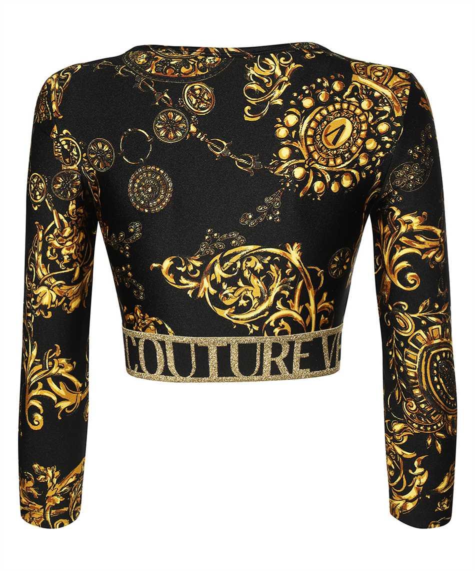 Versace Jeans Couture 71HAH218 JS008 PRINT BAROQUE BIJOUX T-shirt 2
