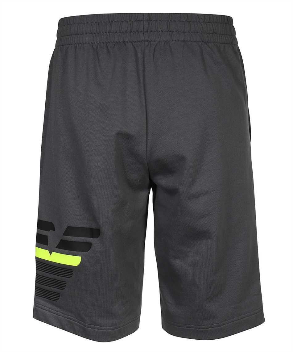 EA7 3KPS57 PJ05Z JERSEY FLEECE LOGO Shorts 2