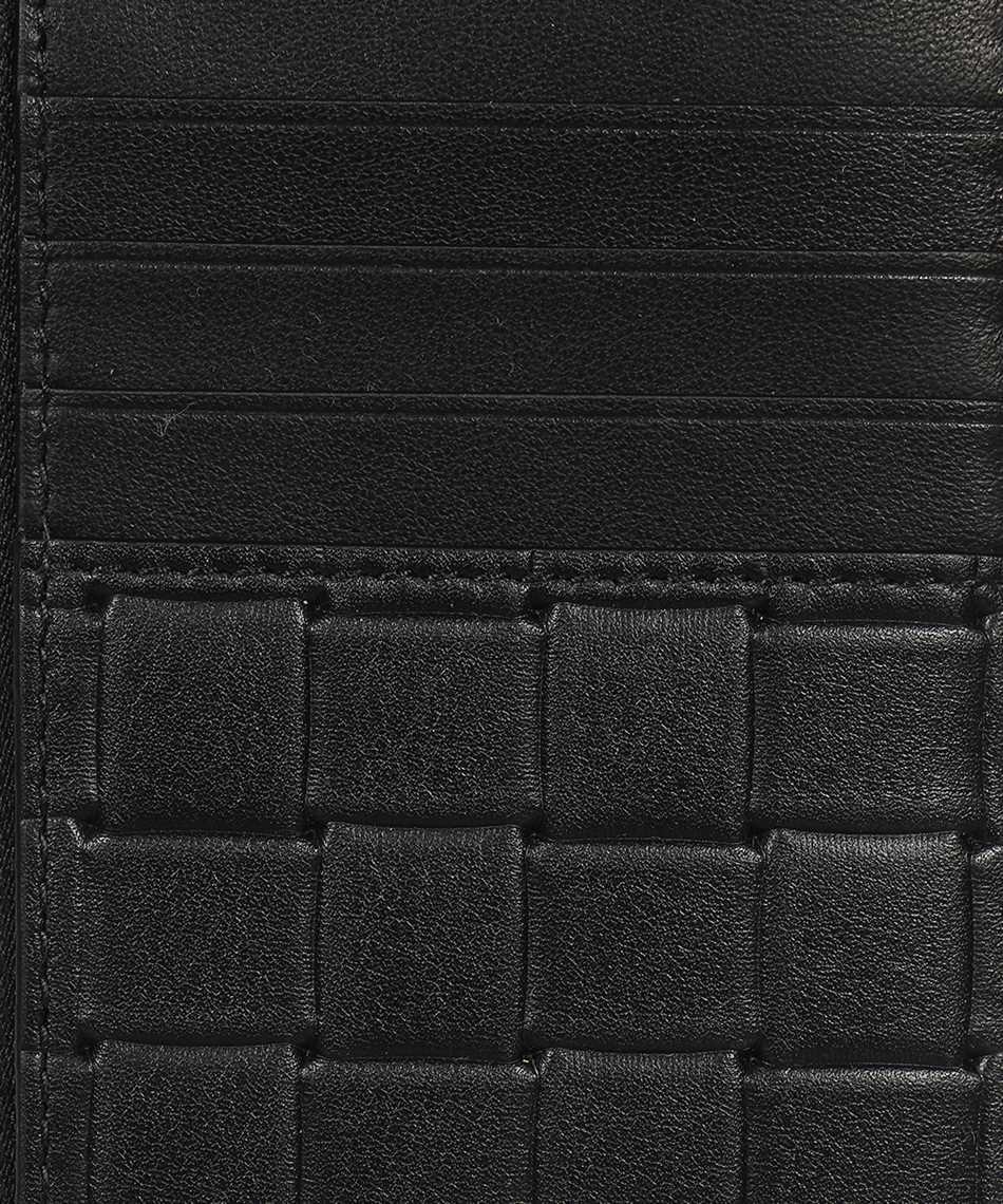 Bottega Veneta 591379 V0AQ1 PRINTED GRID Porta carte di credito 3