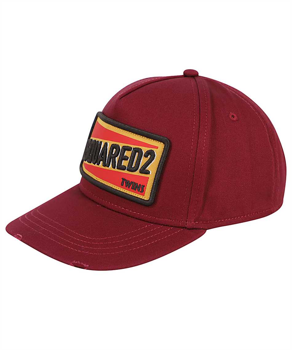 Dsquared2 BCM0419 05C00001 DSQUARED2 PATCH CAP Kappe 1