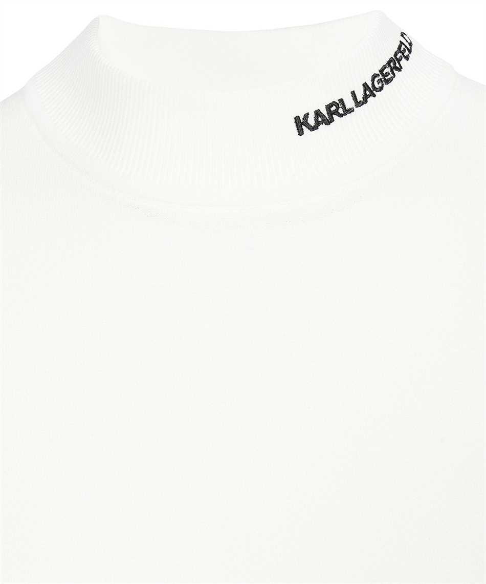 Karl Lagerfeld 216W2010 KARL LOGO MOCK-NECK Strick 3
