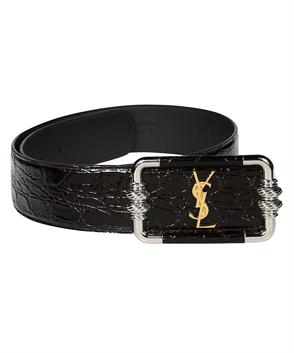Saint Laurent 640548 1ZQ0X MONOGRAM VINTAGE Belt 2