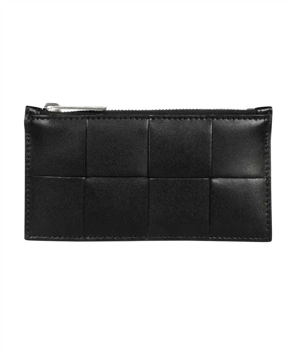 Bottega Veneta 667049 VBWD3 ZIPPED Porta carte di credito 1