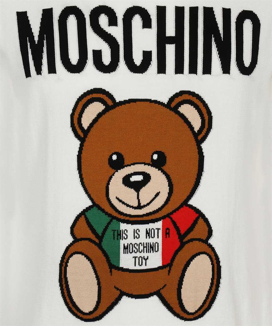 Moschino A0927 2002 ITALIAN TEDDY BEAR Knit 3