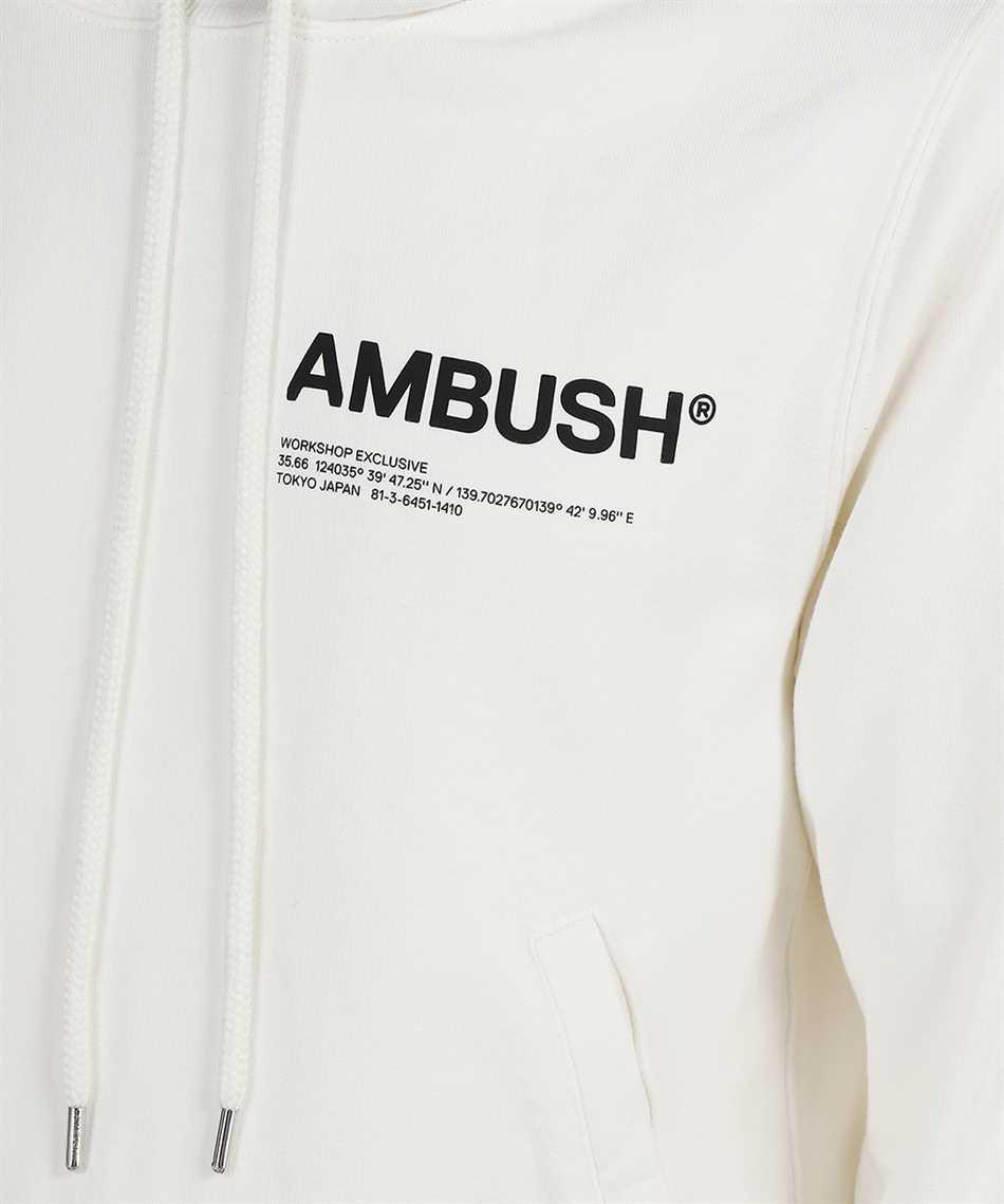 Ambush BMBB012F21FLE001 FLEECE WORKSHOP Hoodie 3