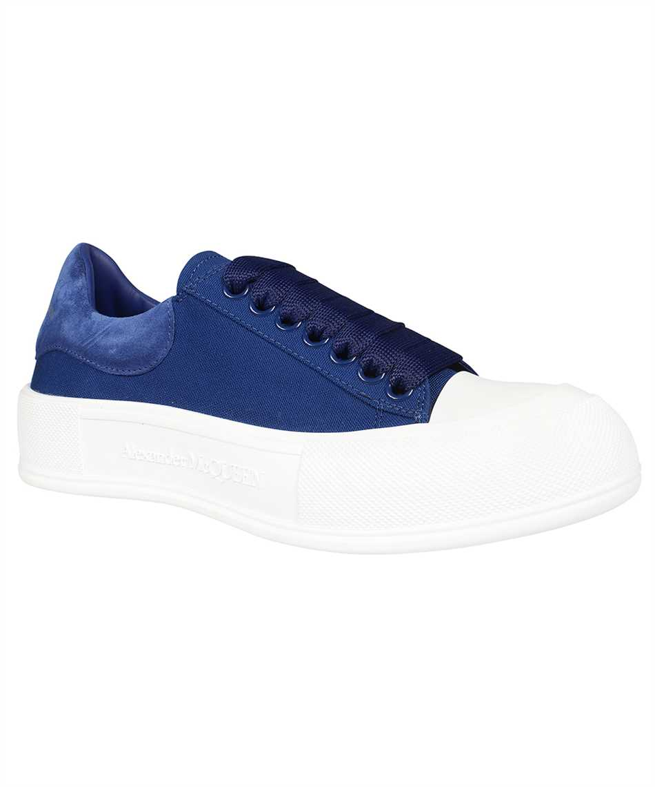 Alexander McQueen 654594 W4PQ1 DECK LACE-UP PLIMSOLL Sneakers 2