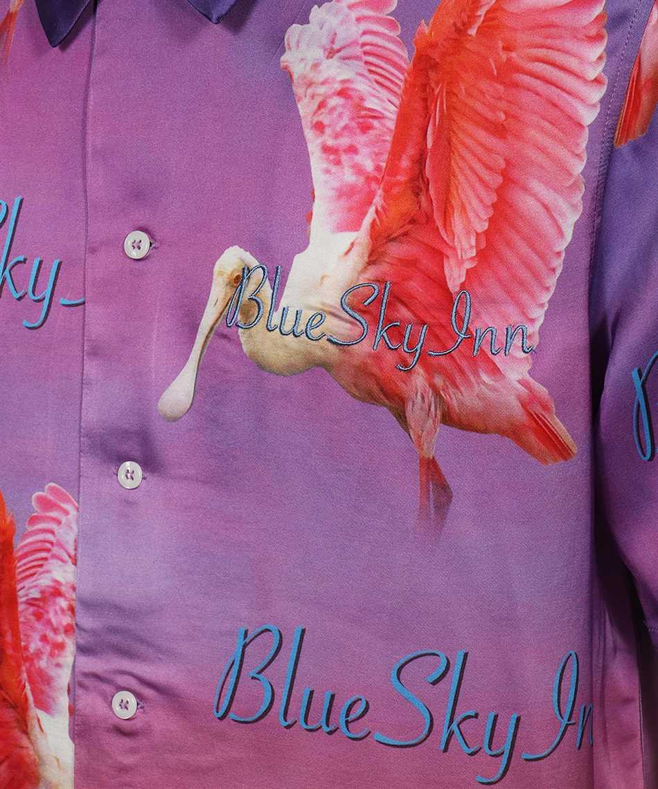 Blu sky inn BS2101SH007 SEASONAL LOGO Camicia 3