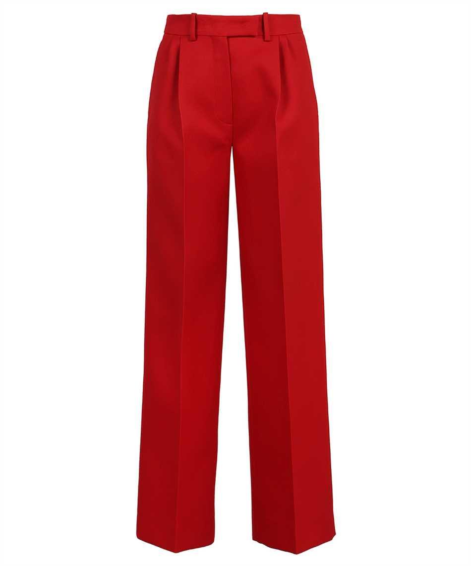 Fendi FR6293 AC4G WIDE SILK WOOL Trousers 1