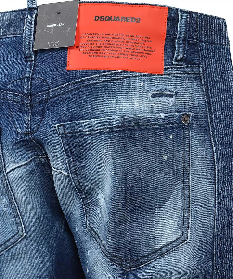Dsquared2 S74LB0847 S30342 BIKER Jeans 3