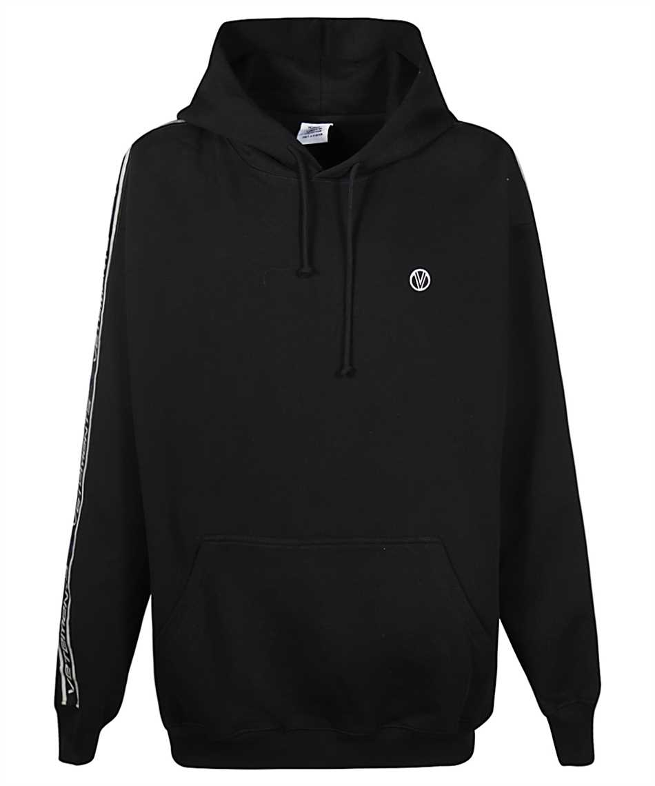 Vetements UE51TR700B LOGO TAPE Kapuzen-Sweatshirt 1