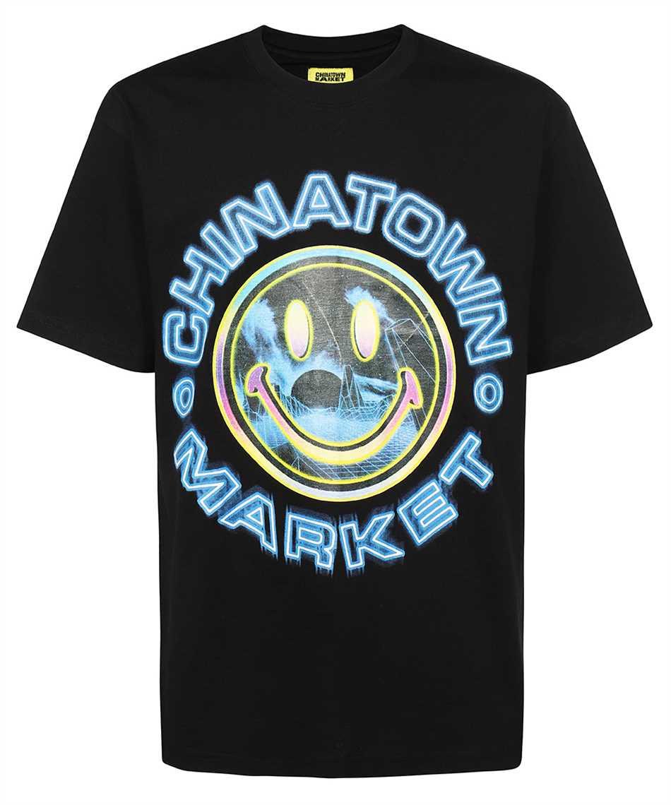 Chinatown Market 1990558 SMILEY VAPOR WAVE T-Shirt 1