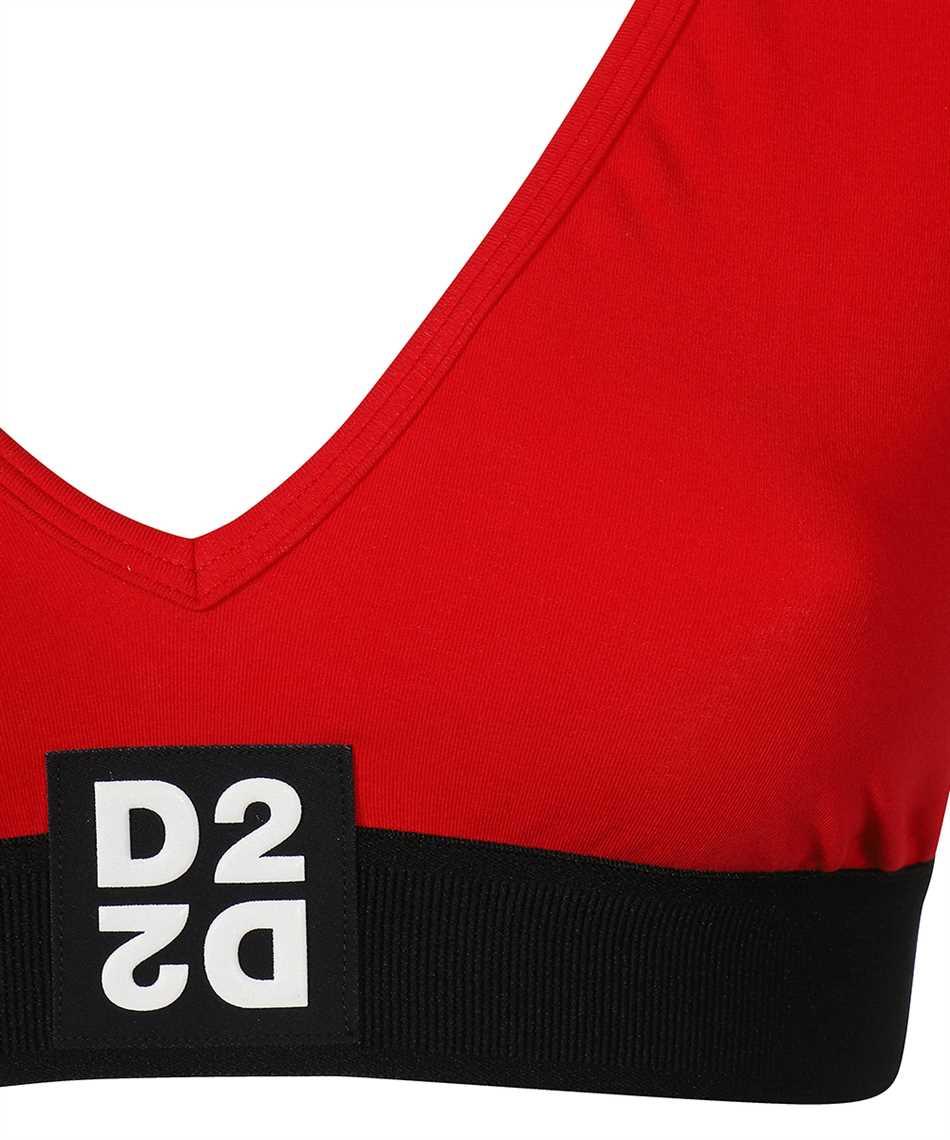 Dsquared2 D8D872980 CROPPED T-Shirt 3