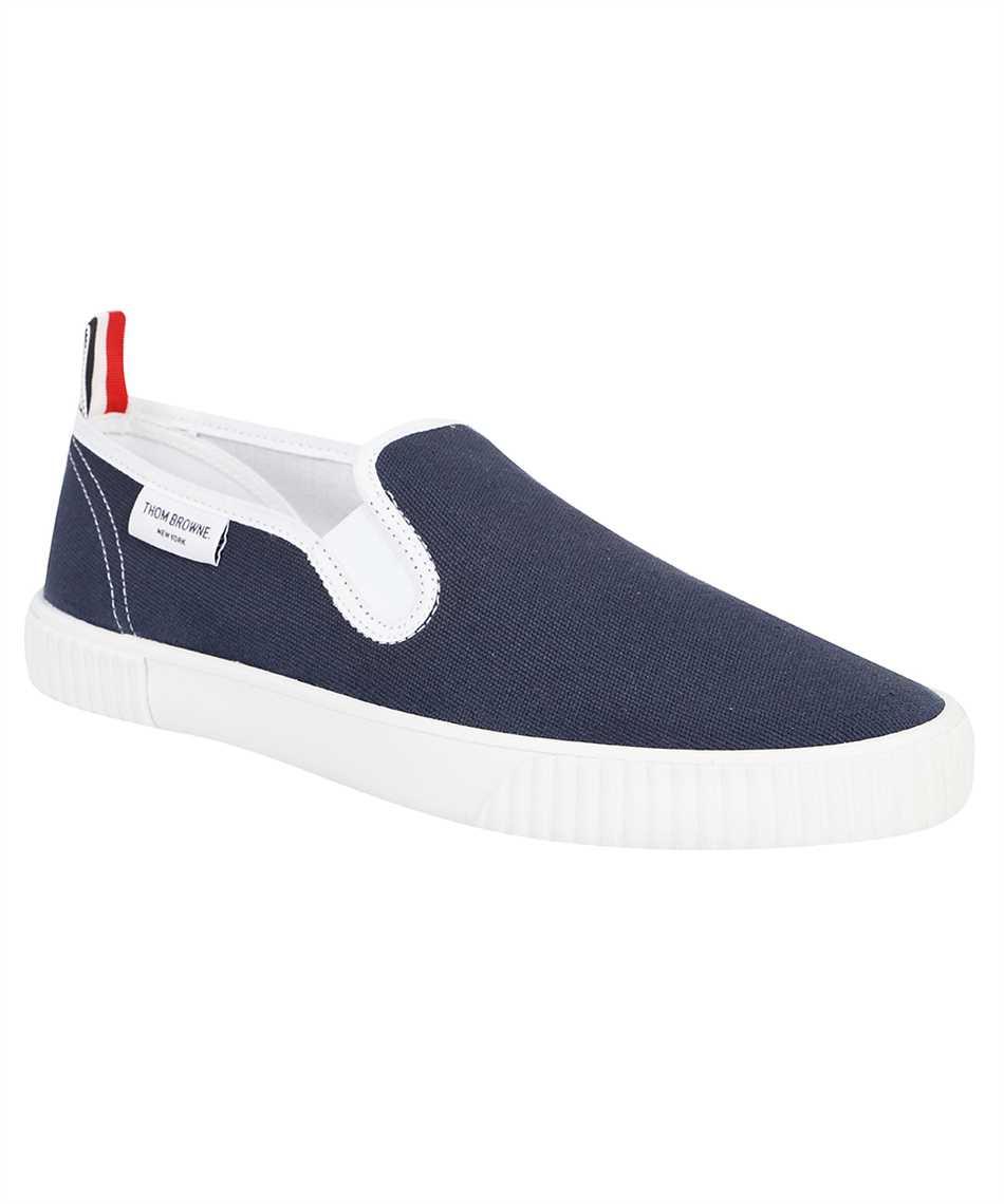 Thom Browne MFL064A 01588 CANVAS SLIP-ON HERITAGE TRAINER Sneakers 2