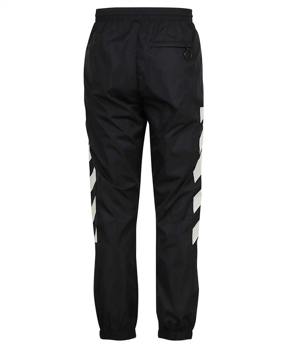 Off-White OMCJ001F21FAB001 DIAG NYLON TRACK Trousers 2