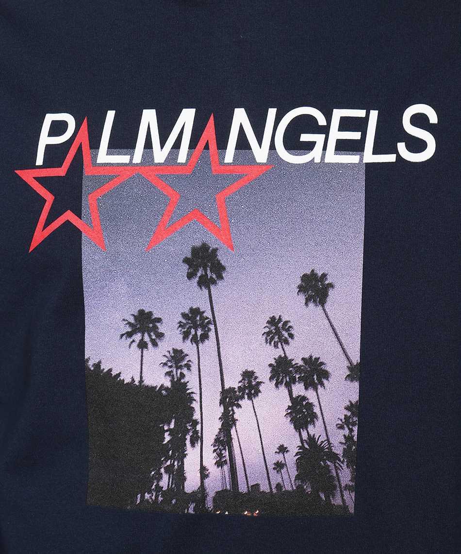 Palm Angels PMAB002F21JER003 STARS AND PALMS T-Shirt 3
