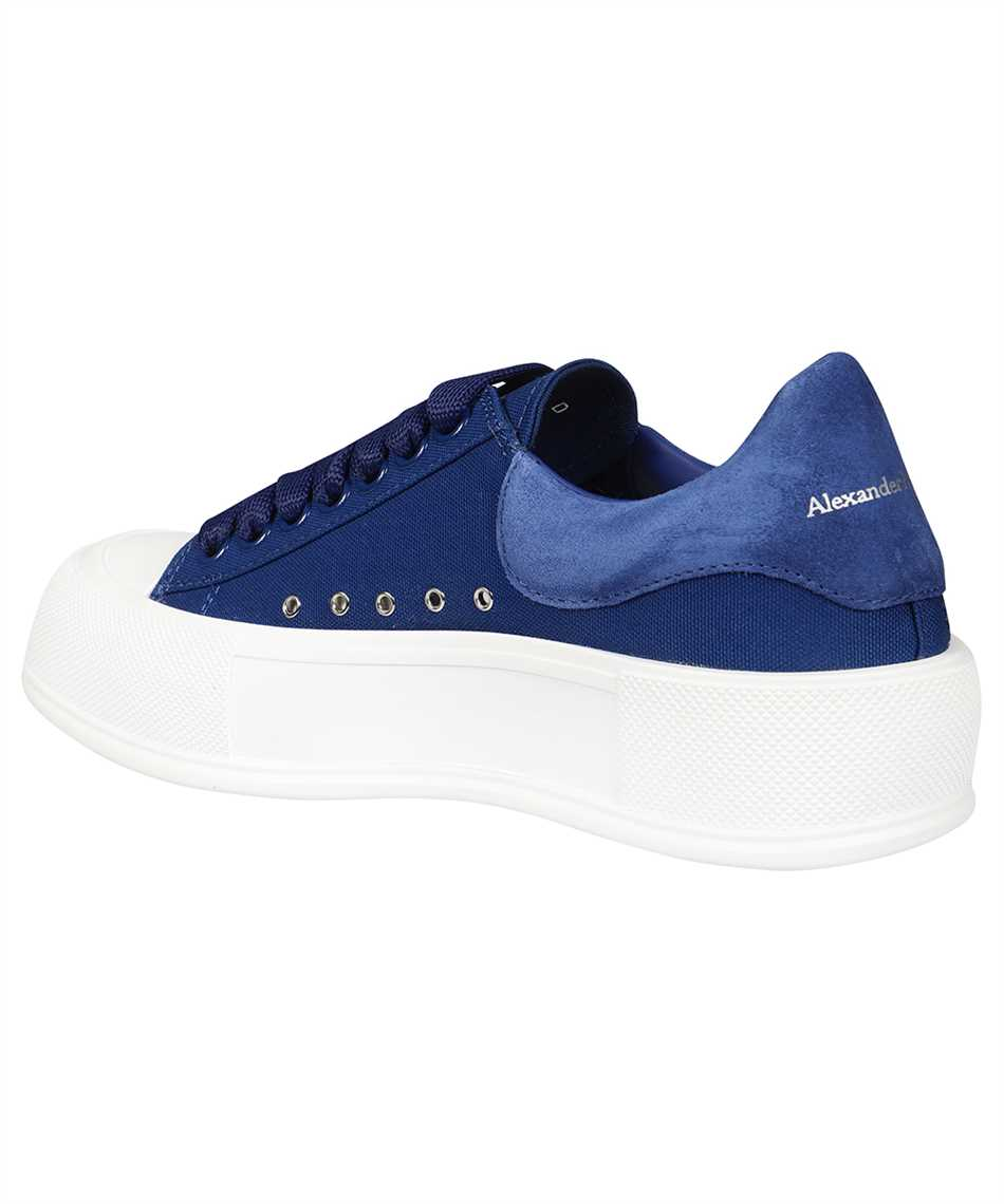 Alexander McQueen 654594 W4PQ1 DECK LACE-UP PLIMSOLL Sneakers 3
