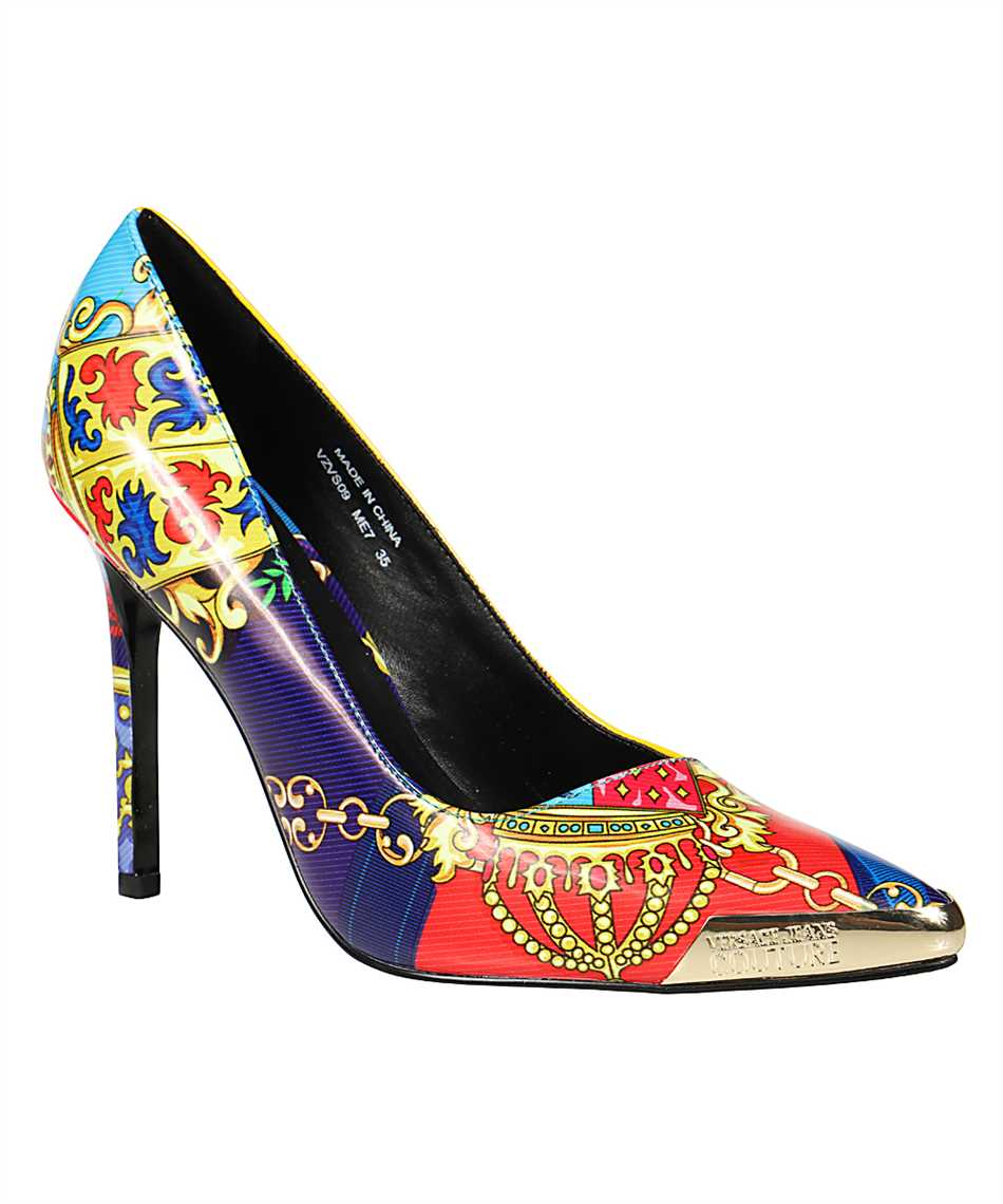 Versace Jeans Couture E0VZBS09 71560 FANTASY PRINT Shoes 2