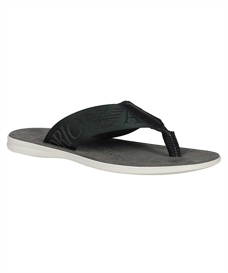 Emporio Armani X4P082 XM847 FLIP FLOP Sandals 2