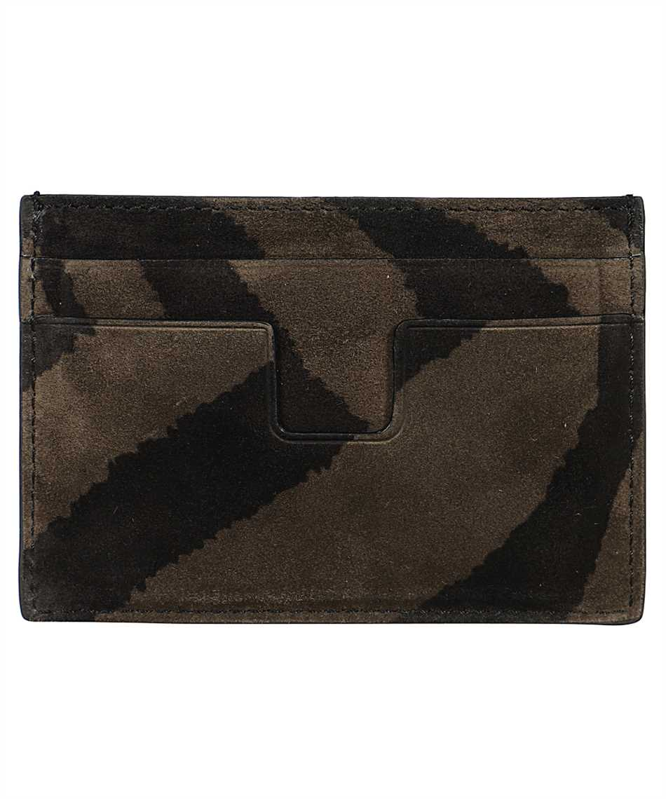 Tom Ford Y0232P-LCL078 ZEBRA SUEDE Card holder 2