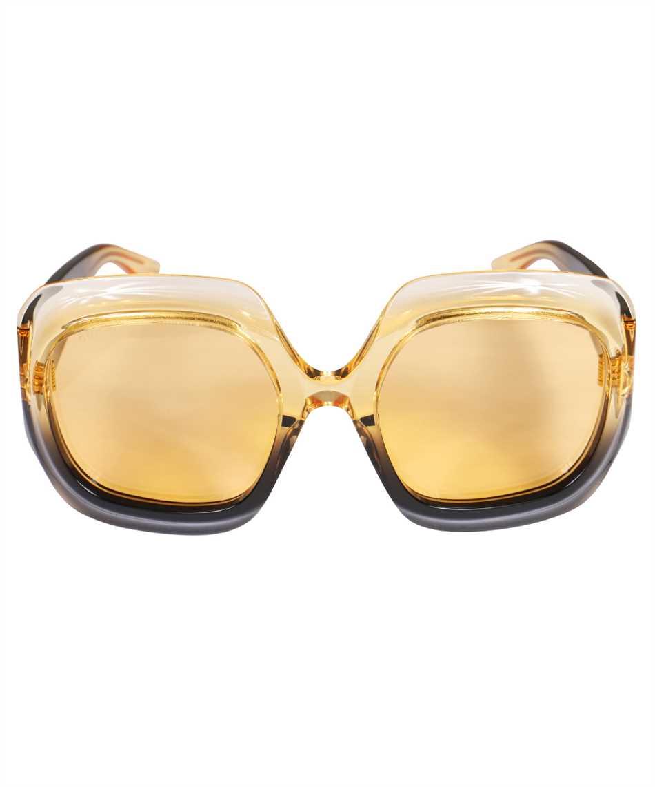Gucci 663783 J0740 SQUARED-FRAME Occhiali da sole 1