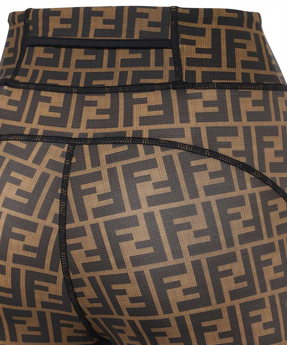 Fendi FAB213 AGM5 LEGGINGS FF FIT LYCRA Pantalone 3