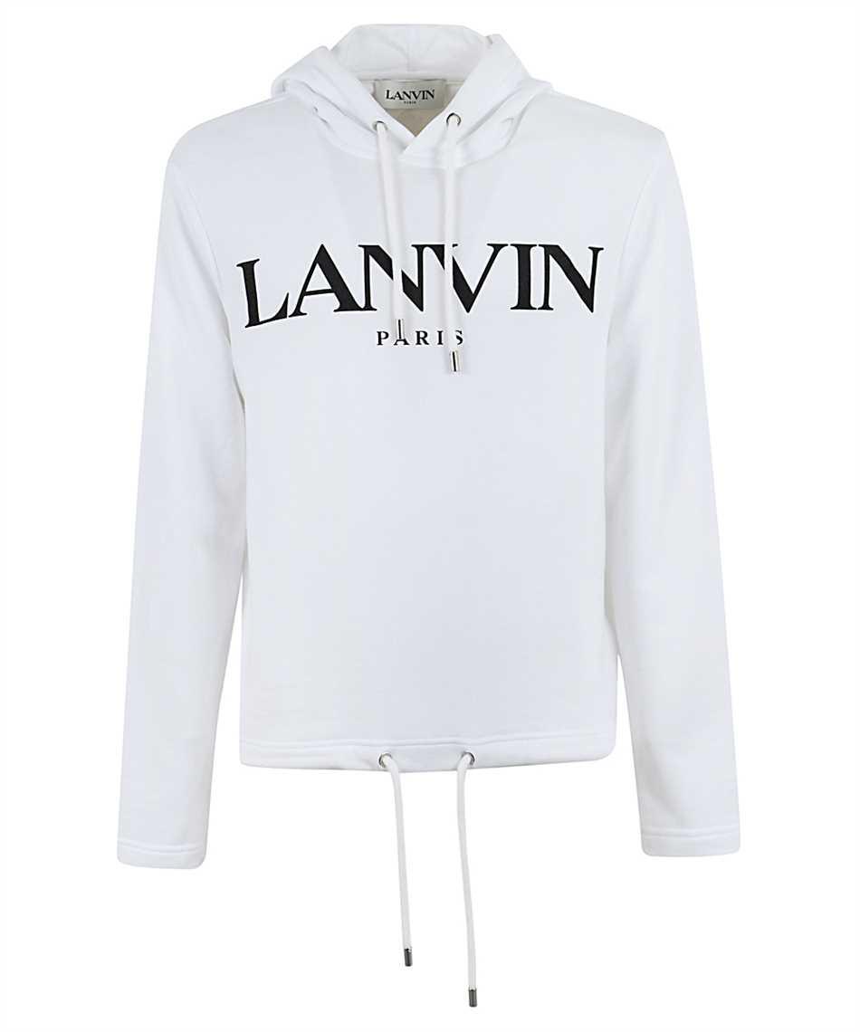 Lanvin RM JE0071 JR19 H20 PRINTED Kapuzen-Sweatshirt 1
