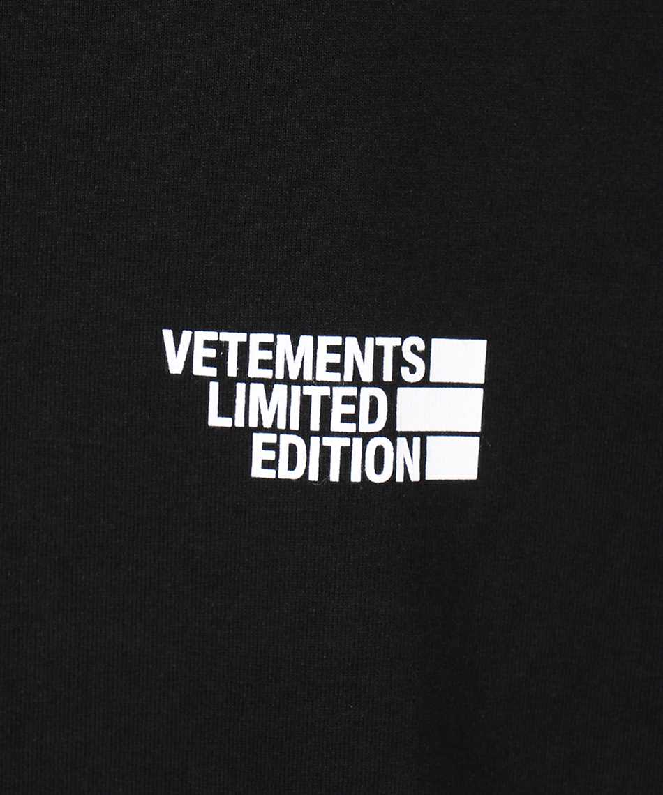 Vetements UE51TR720B LOGO LIMITED EDITION T-shirt 3