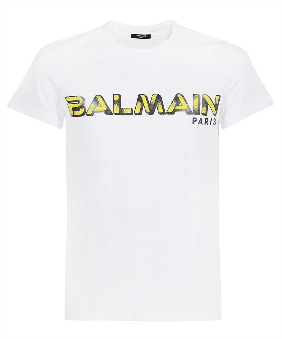 Balmain WH1EF000B138 PRINTED LOGO T-Shirt 1