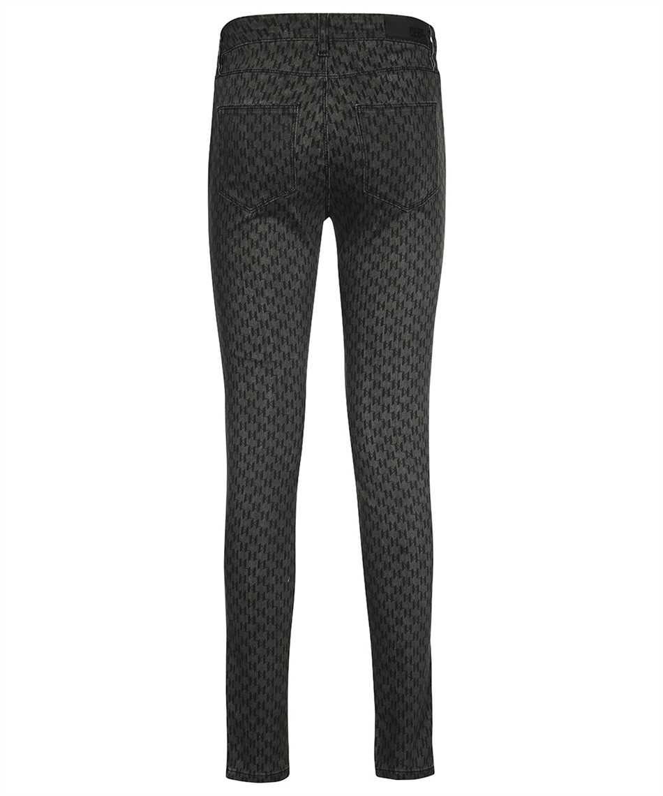 Karl Lagerfeld 216W1102 MONOGRAM SKINNY Jeans 2