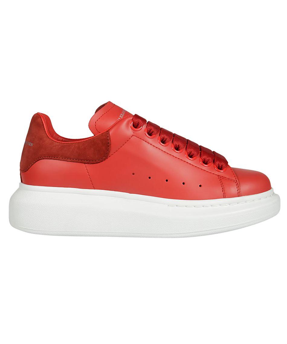 red alexander mcqueen sneakers