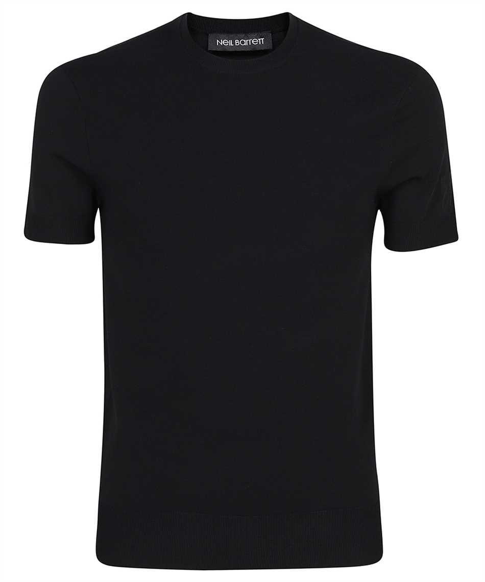 Neil Barrett BMA1063E R600 TECNO KNIT T-Shirt 1