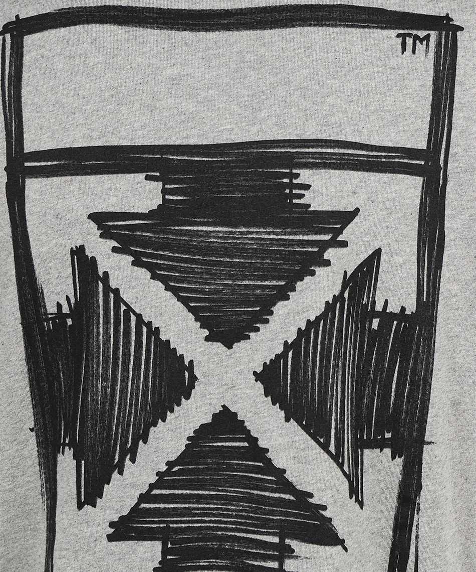 Off-White OMAA119F21JER022 NEGATIVE MARK S/S SKATE T-shirt 3