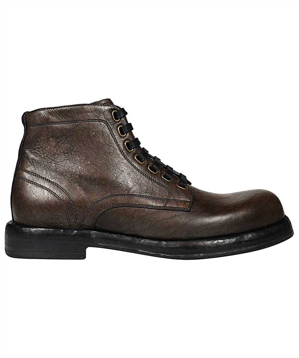Dolce & Gabbana A60306 AW352 HORSEHIDE ANKLE Stivale 1