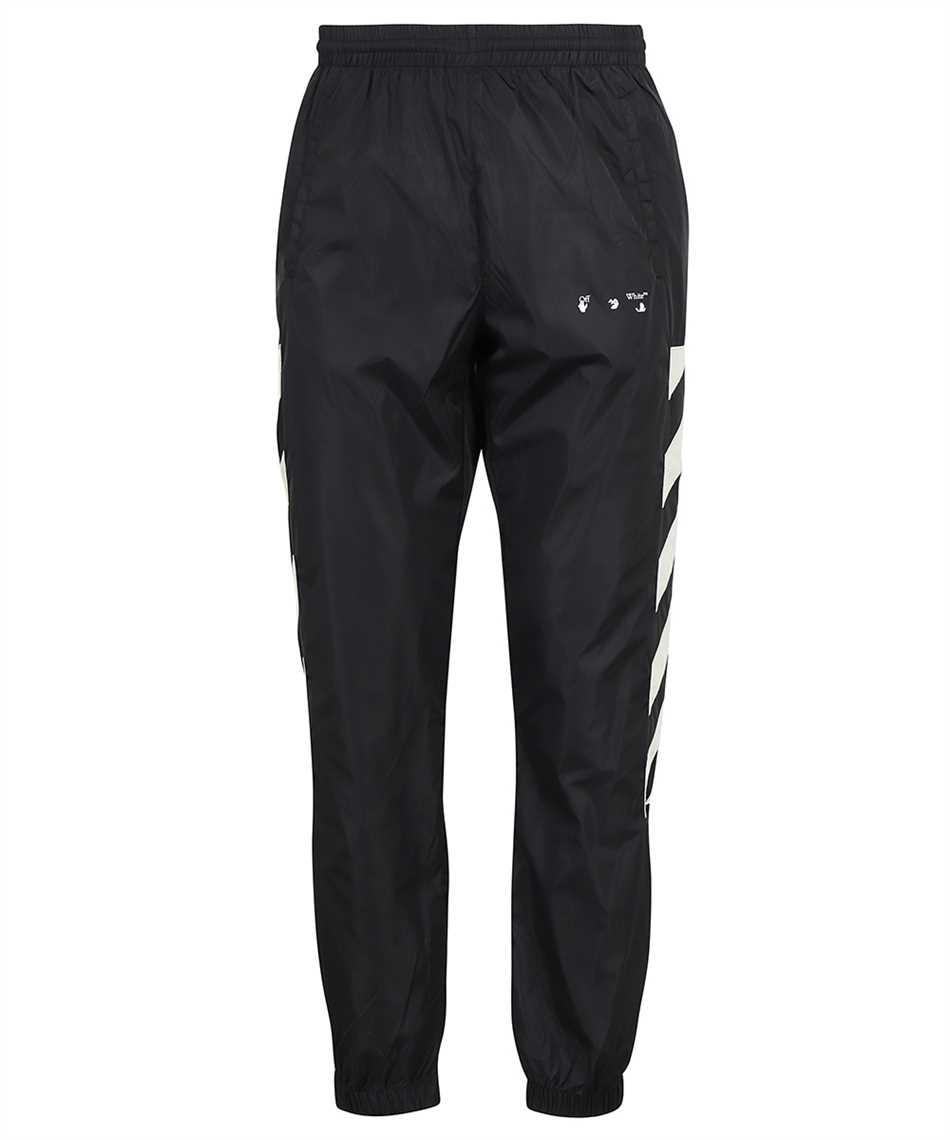 Off-White OMCJ001F21FAB001 DIAG NYLON TRACK Trousers 1