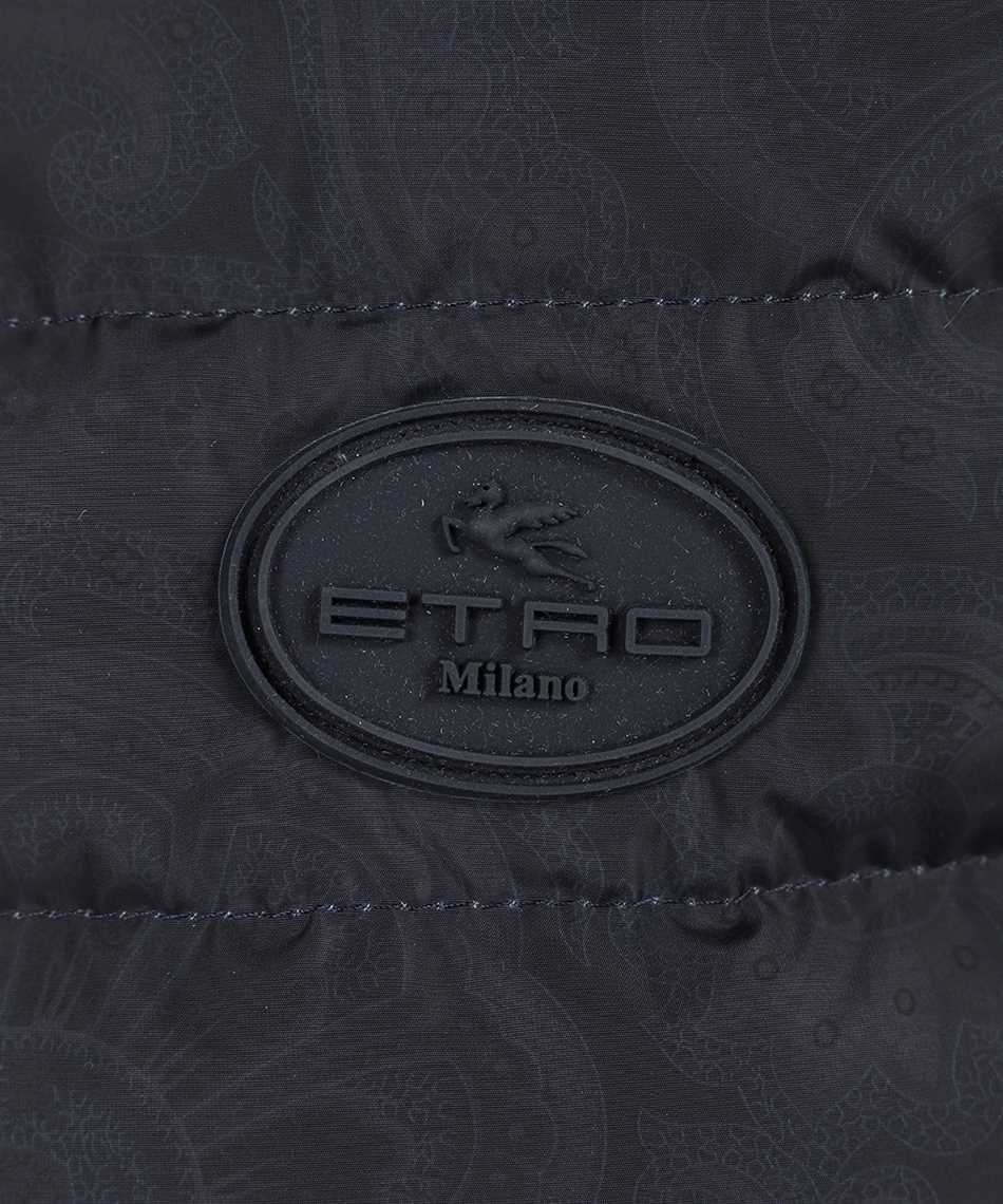 Etro 1N314 9557 WOOL DOWN Cardigan 3