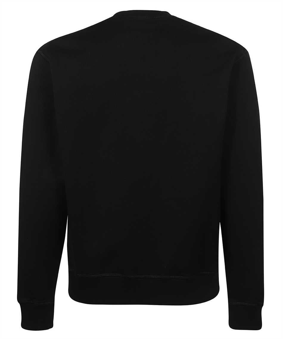 Dsquared2 S71GU0432 S25042 METAL LEAF CREWNECK Sweatshirt 2