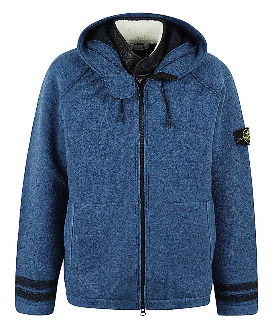 Stone Island 565A6 FELTED PURE WOOL Giacca 1