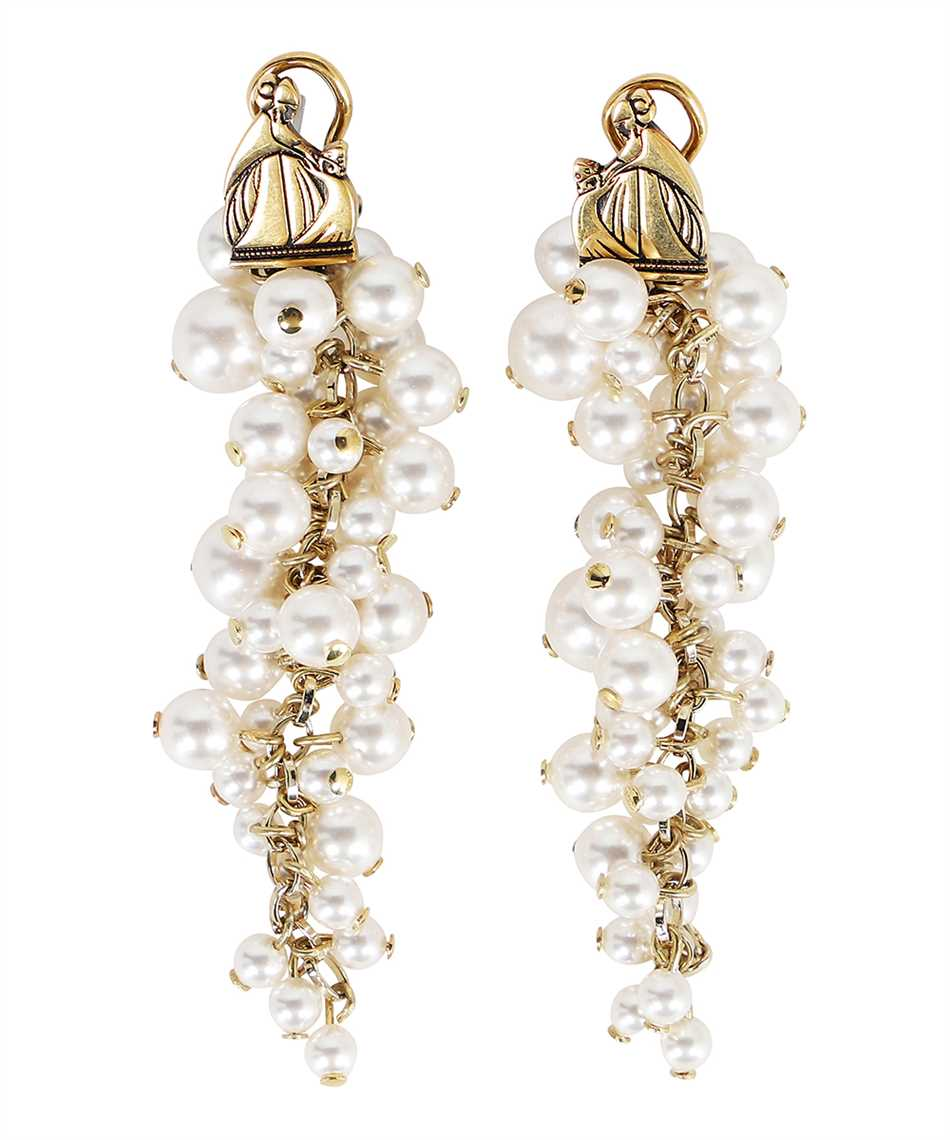 Lanvin AW CJYA0Y PERL A21 MOTHER & DAUGHTER LONG PEARLS Orecchini 3