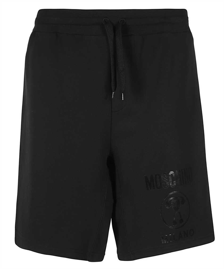 Moschino A0347 2027 DOUBLE QUESTION MARK Shorts 1