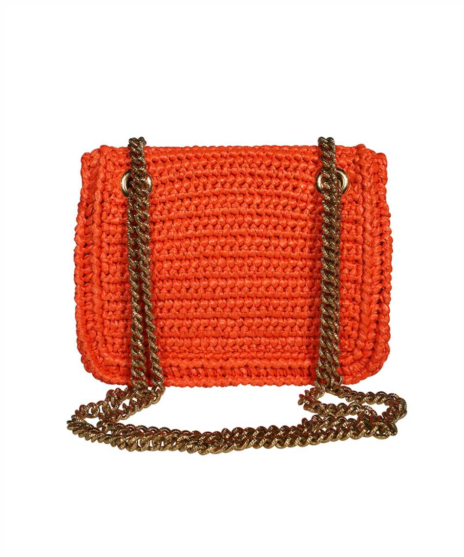Dolce & Gabbana BB6641 AO434 MEDIUM CROCHET RAFFIA DEVOTION Bag 2